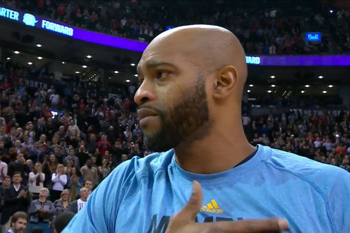 Vince Carter creates one more memory for Raptors montage