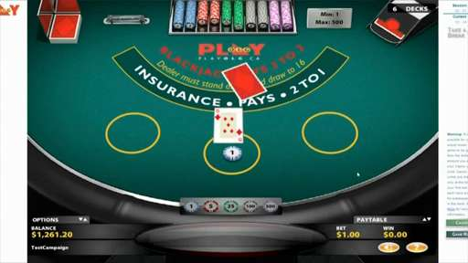 A gambling site in casino review z750