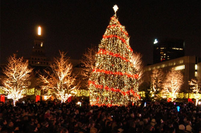 O Christmas Tree': Toronto lights up the season with Cavalcade of ...