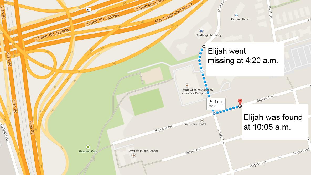 Elijah - map