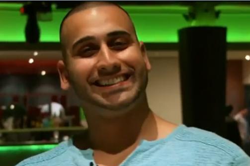 Screenshot of Sameer Kara in a documentary film.