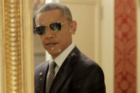 U.S. president tries to sell 'Obamacare' in funny video