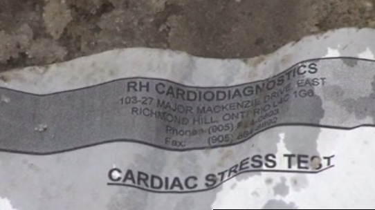 Personal medical records found strewn along street in