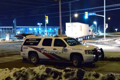 Woman, 61, dies after being hit by truck in Scarborough