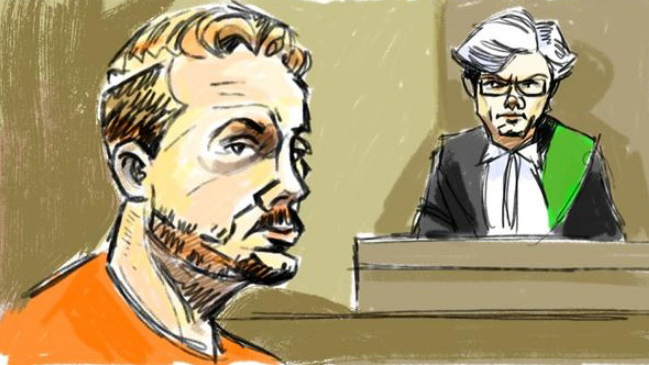 Frank O'Dea appeared before a judge in Brampton on Friday, April 24, 2015. (Marianne Boucher/CityNews)