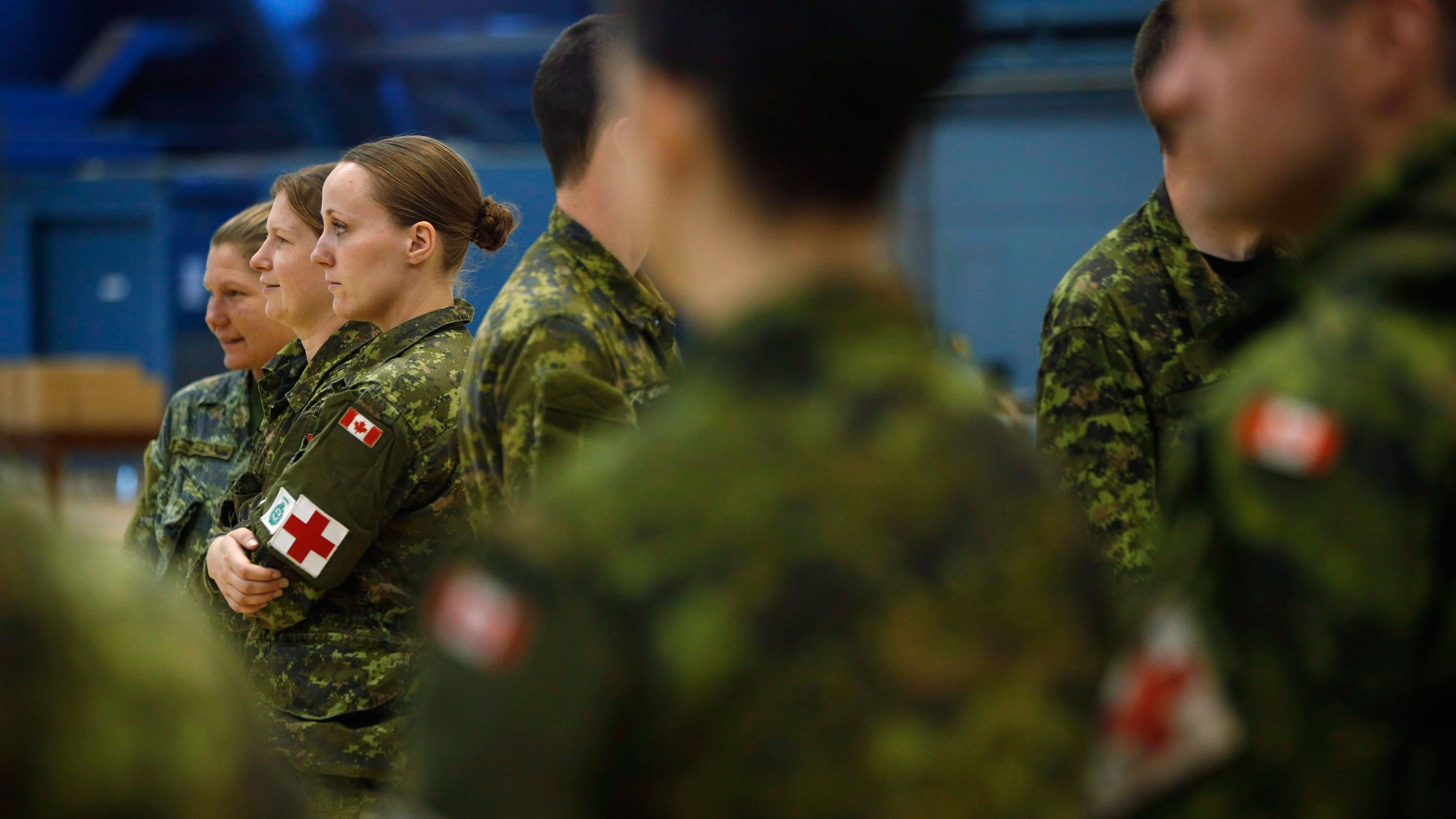 Canada military ill-prepared to resume mantle as world's peacekeeper