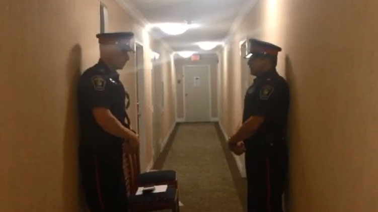 Homicide detectives investigating death in Richmond Hill, May 23, 2015. CITYNEWS