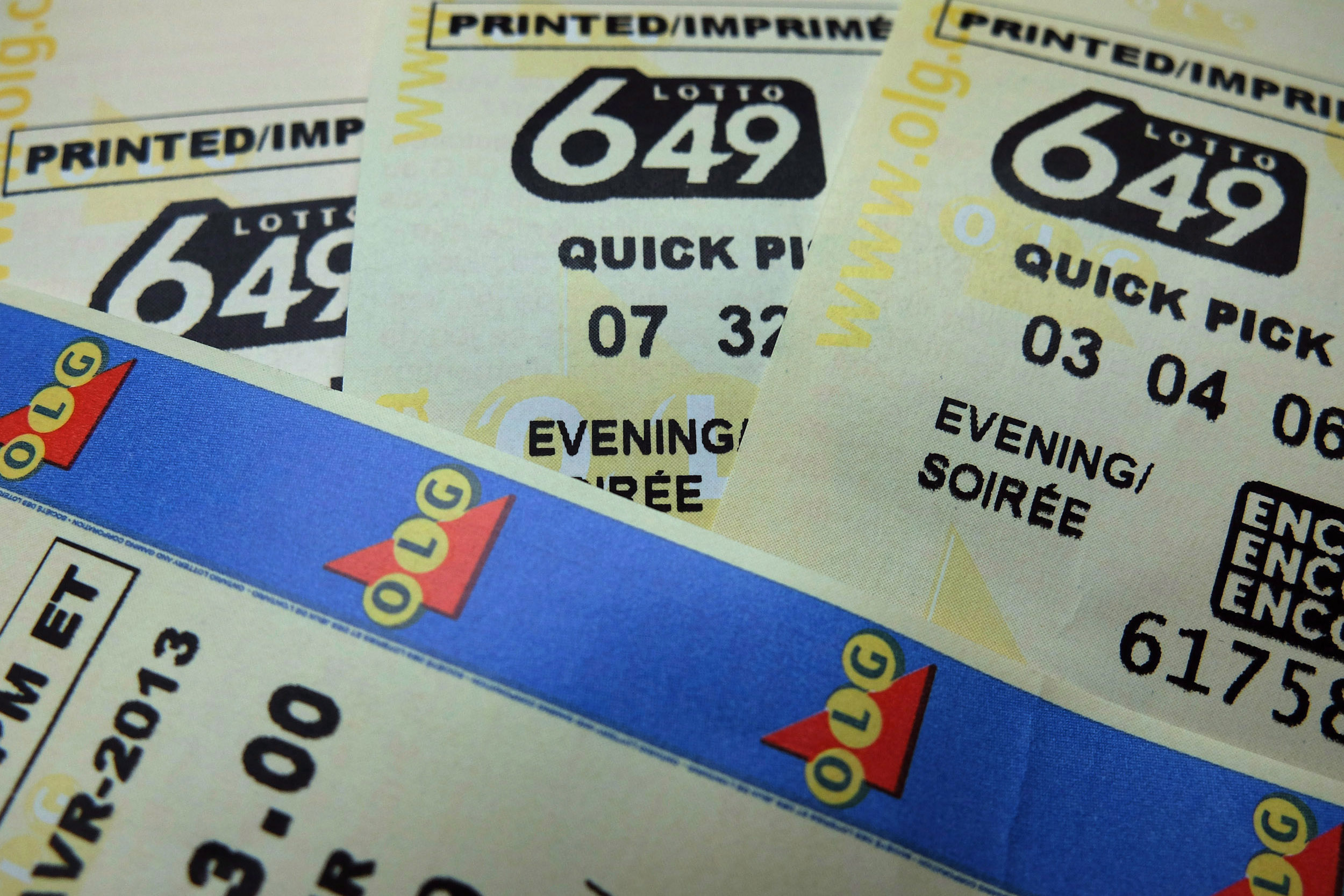 Feeling lucky? $64 million Lotto 6/49 jackpot largest in Canada