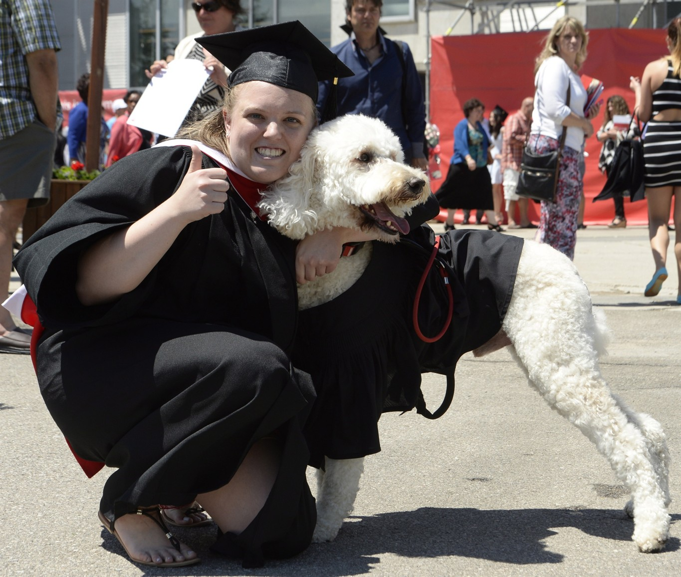 York student crosses convocation stage with her mental health ...