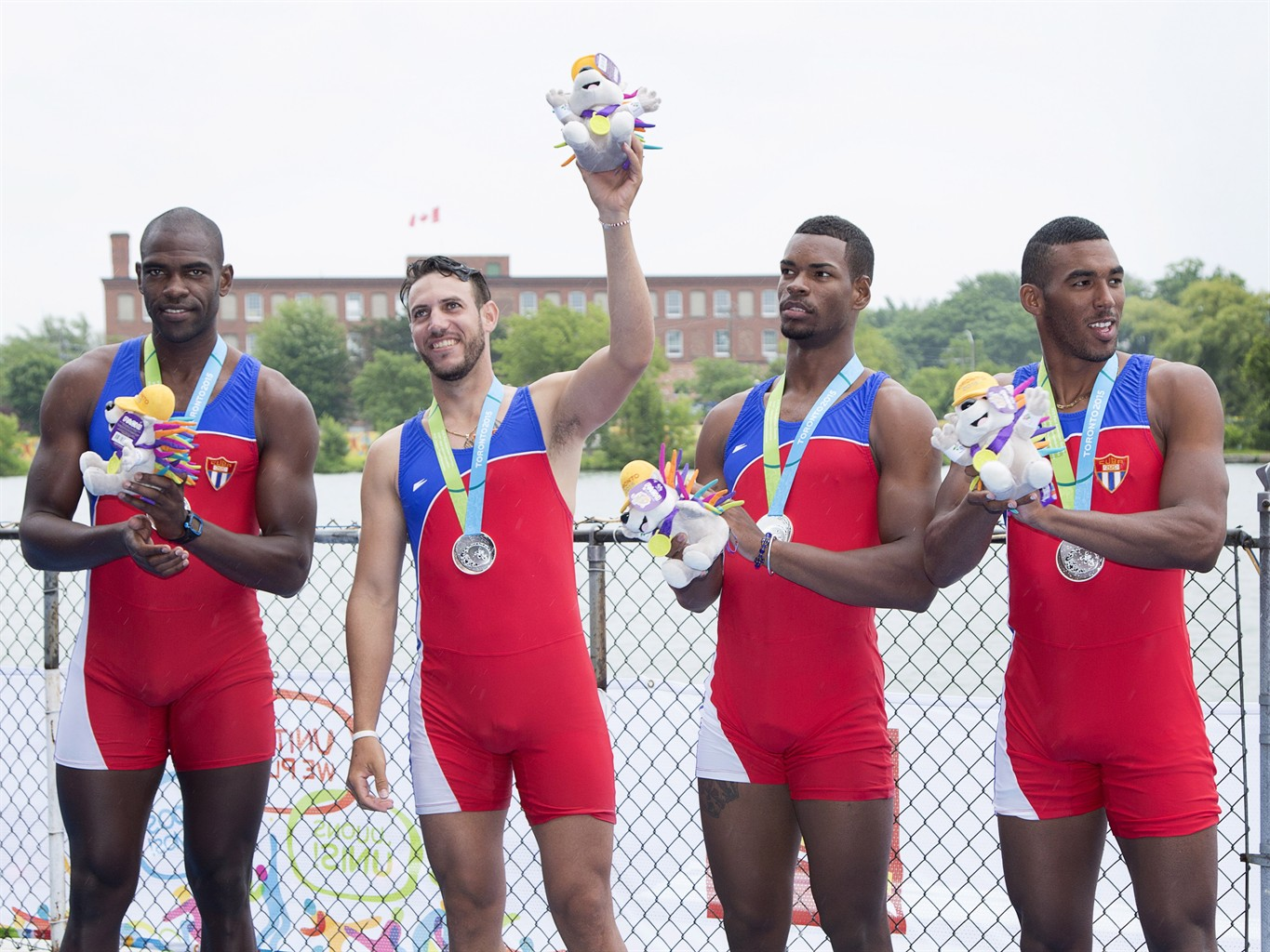 Cuban coach says four members of rowing team defect from Pan