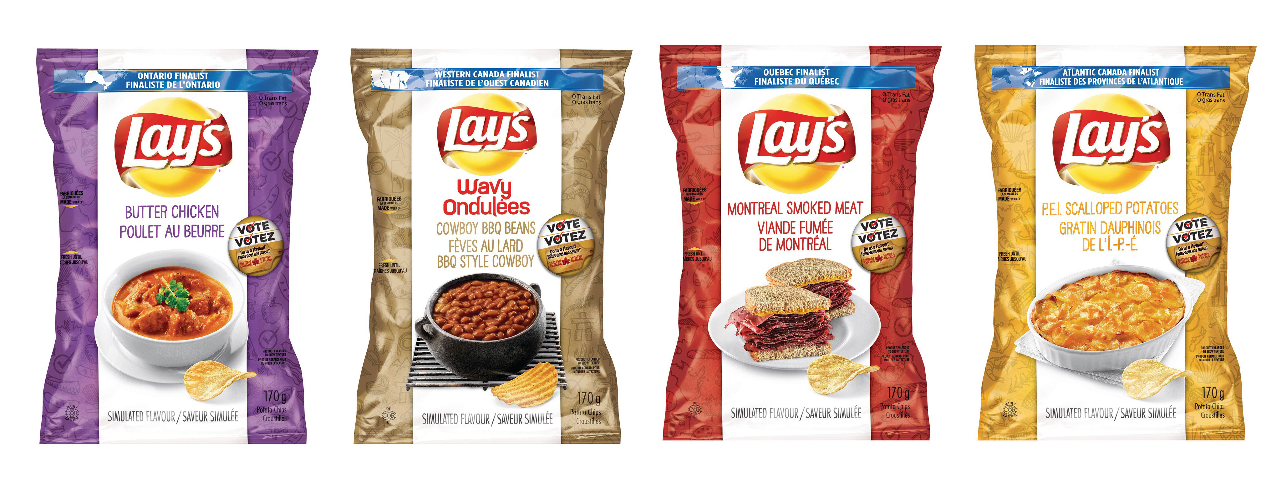 What potato chip flavour should have made Lay's finalist list?