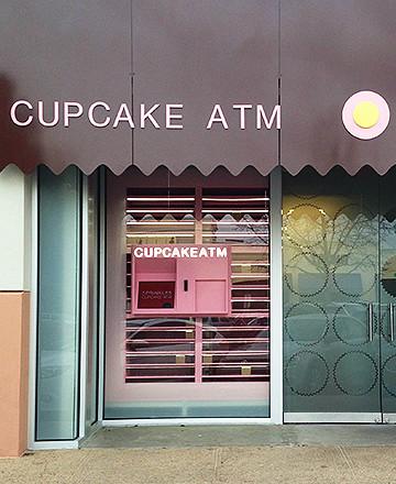 A cupcake ATM in Dallas. Photo via sprinkles.com.