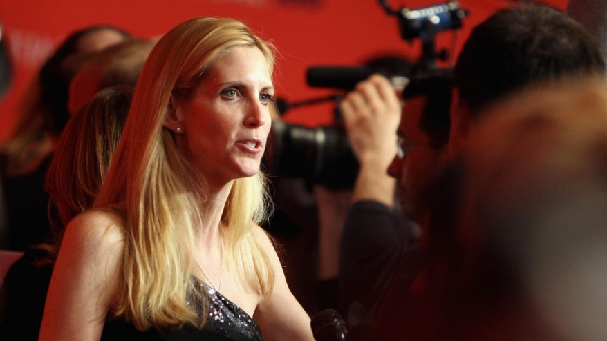 File photo of Ann Coulter. GETTY IMAGES/Stephen Lovekin.