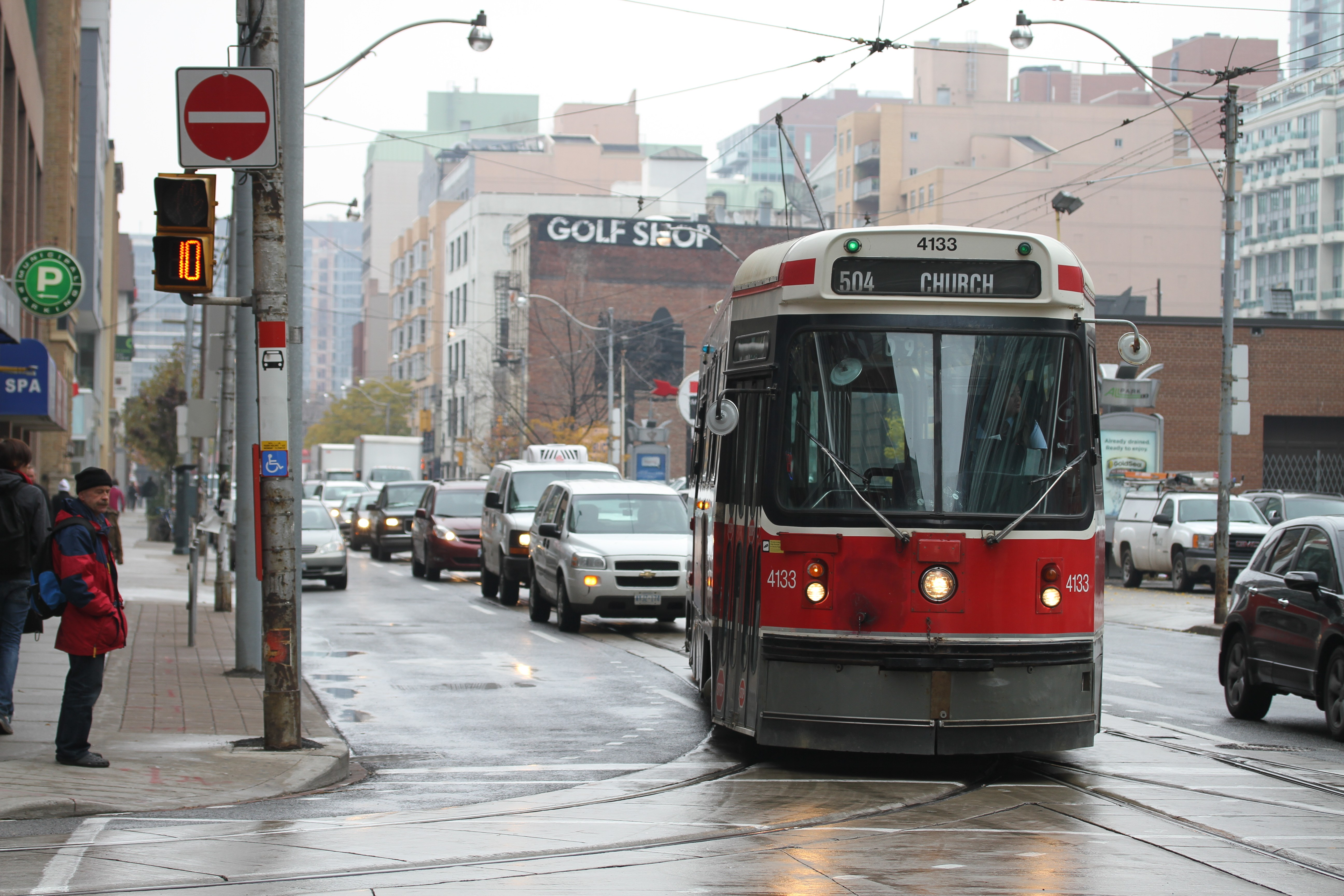 File photo of the 504 King streetcar.