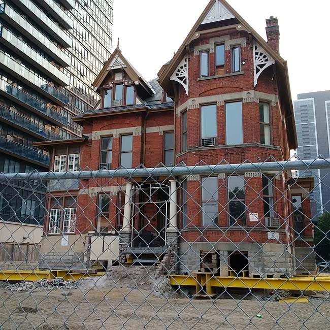 Gooderham Mansion Makes Way For New Apartment Building