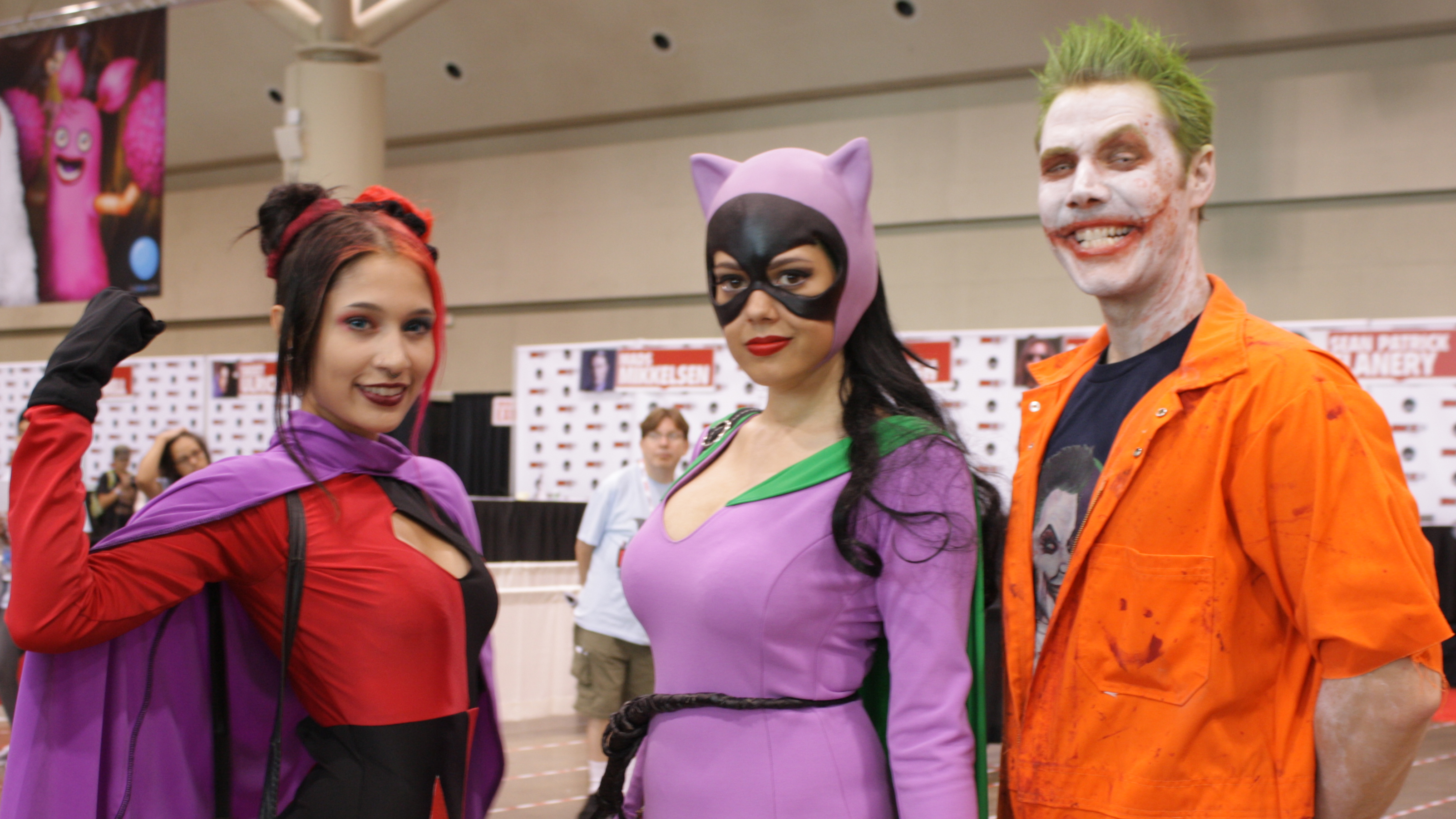 Three cosplayers at Fan Expo on Sept. 4, 2015. CITYNEWS/Christine Chubb