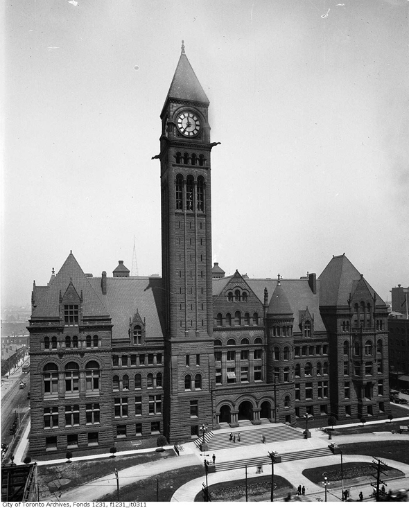 File photo of Old City Hall. CITY OF TORONTO.
