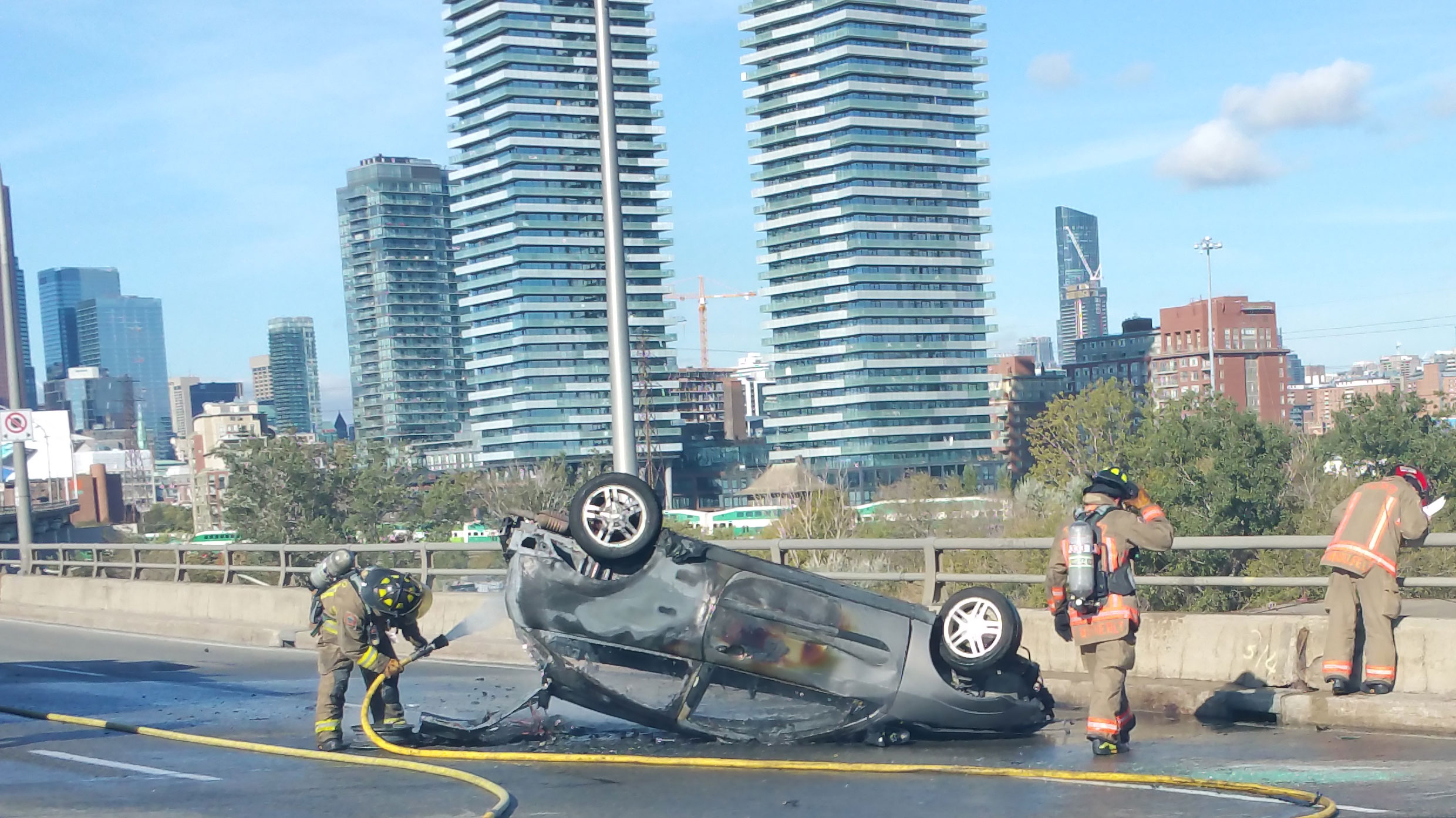 car accidents on the rise in canada, toronto: study
