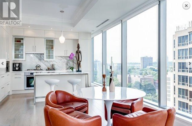 Unit 1103 at 55 Scollard St. is listed at $1.378 million. POINT2HOMES.COM.