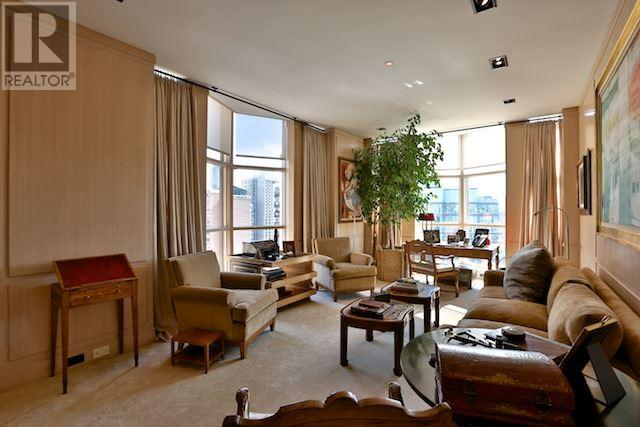 This unit at the Windsor Arms is on the market for $3.98 million. HARVEY KALLES.