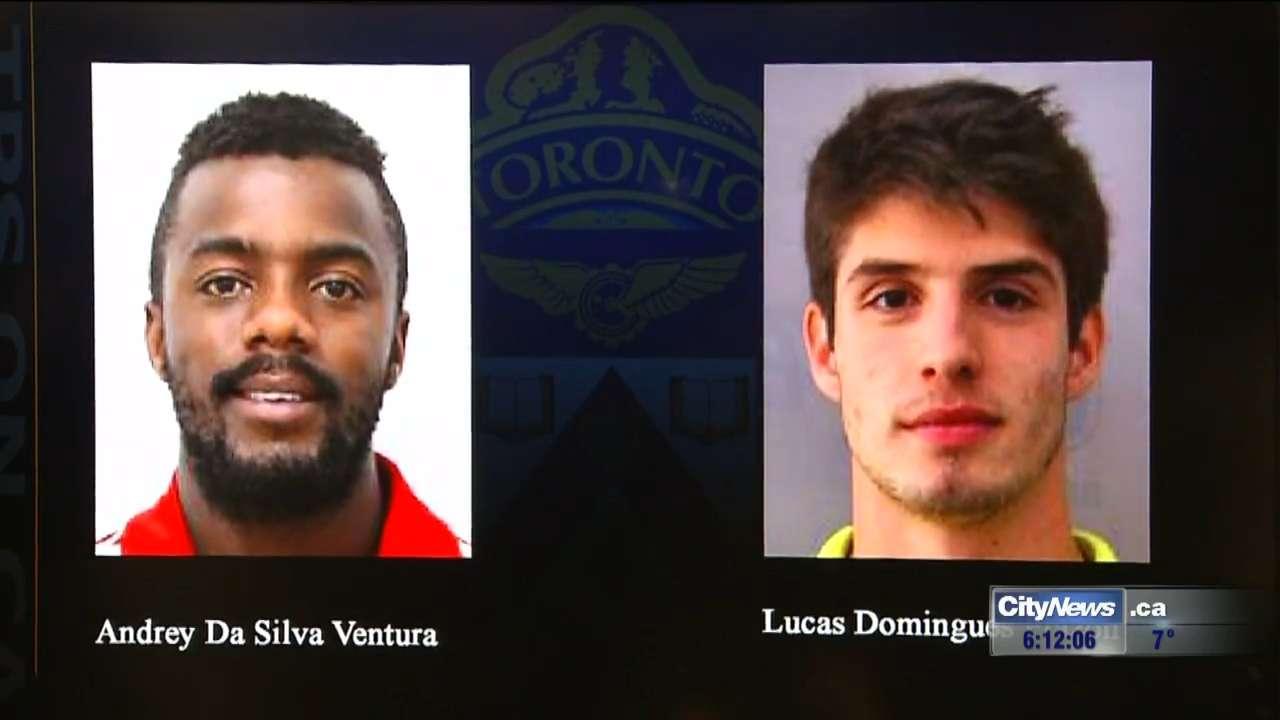 video: 2 brazilian pan am athletes sought for alleged sex assault