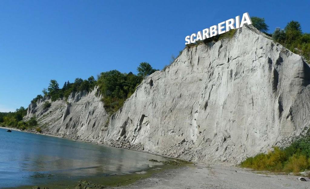 Scarberia Toronto sign