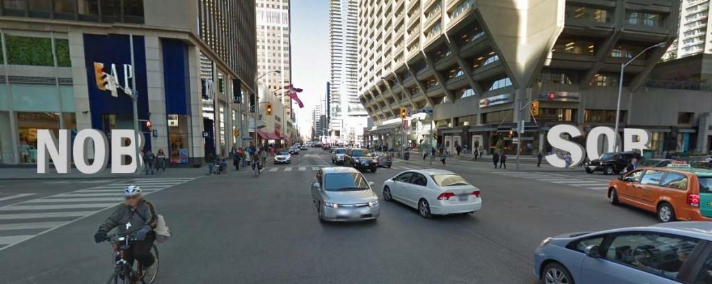 SOB/NOB Toronto sign