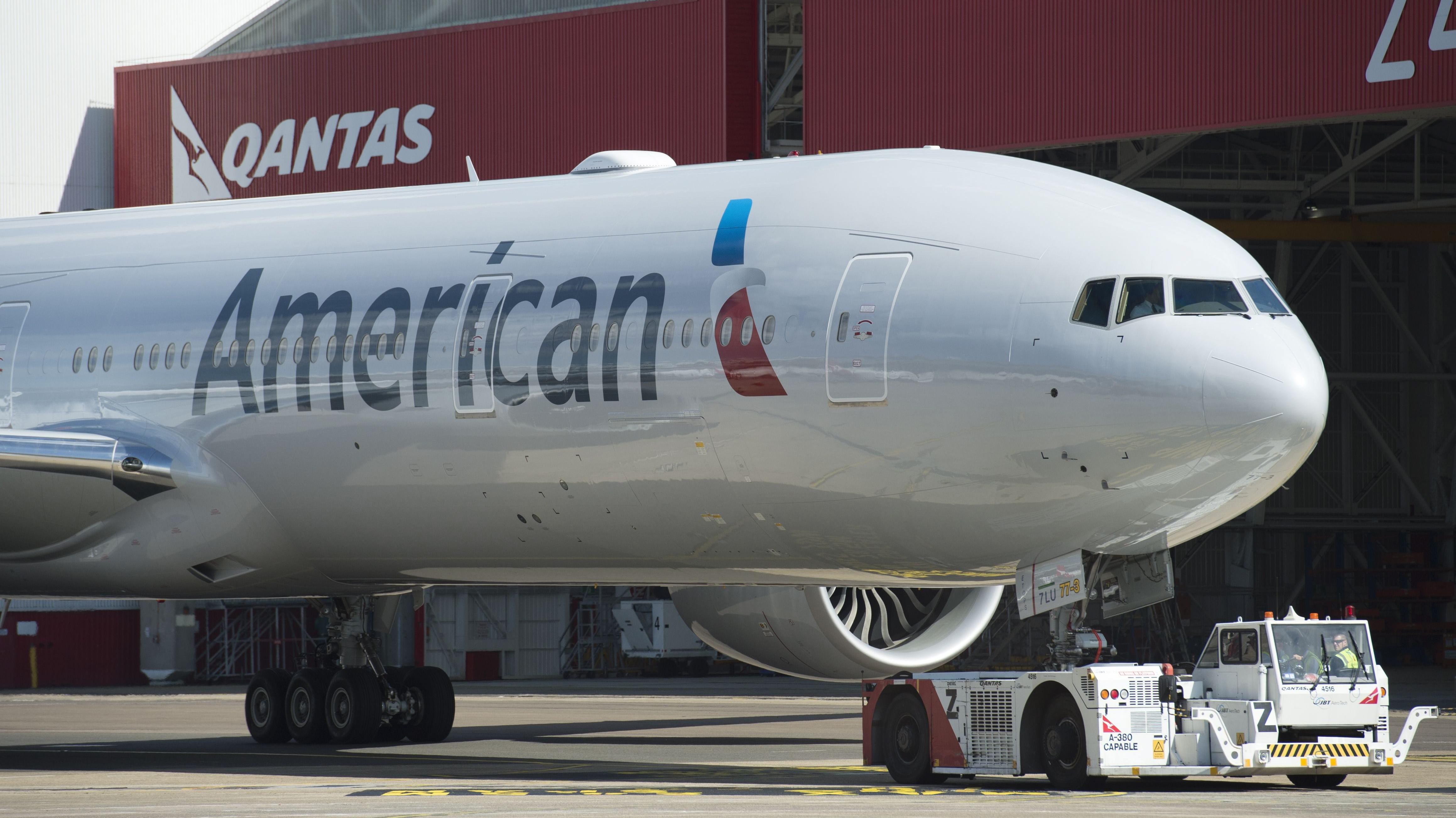 American Airlines Jet Makes Emergency Landing In St John