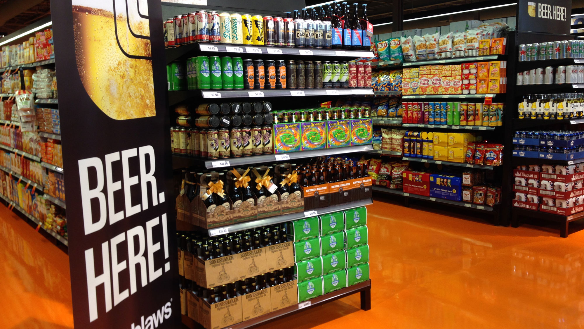 Beer cider arriving in more ontario grocery stores by for Craft stores in canada