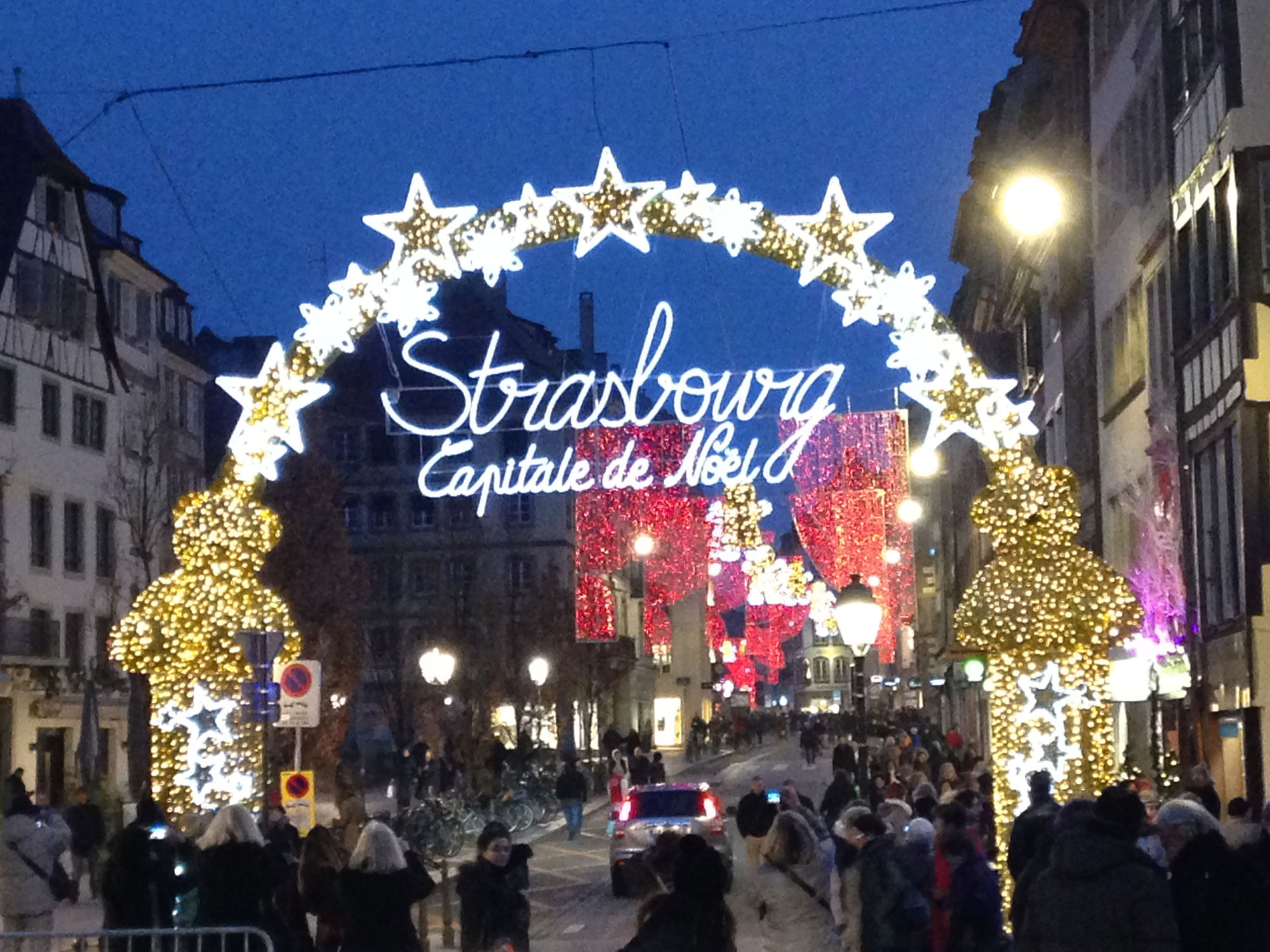 The Christmas market in Strasbourg, France, on Dec, 10, 2015. 680 NEWS/Patricia D'Cunha.