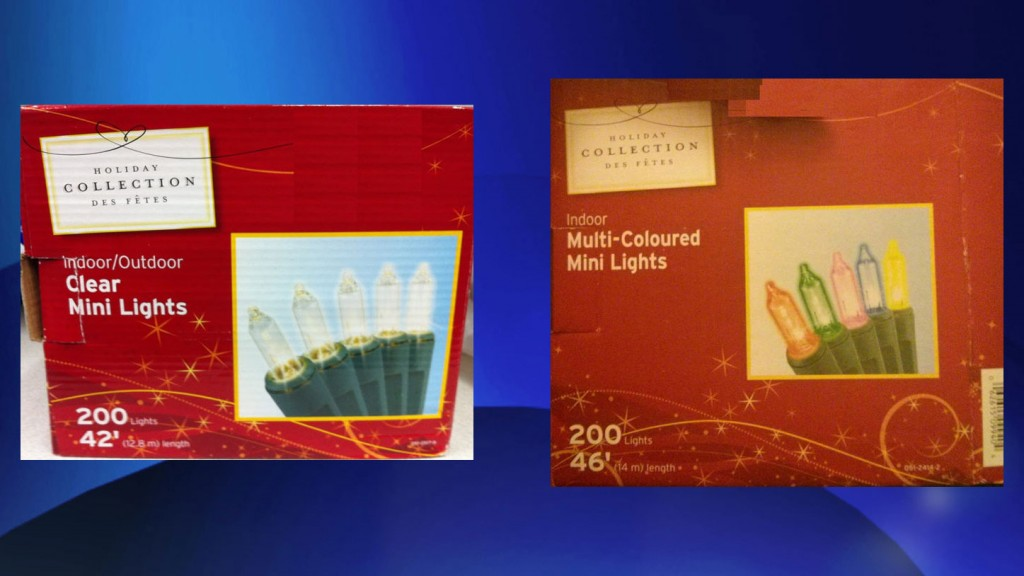 Canadian Tire Expands Holiday Collection Christmas Light Recall