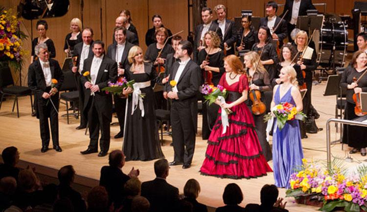 An operatic show at Roy Thomson Hall. Photo via roythomson.com.