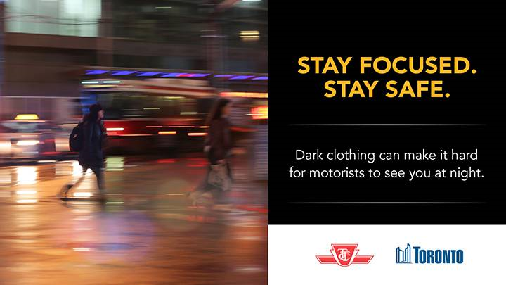 Last fall, the TTC launched a pedestrian-awareness campaign that was greeted with criticism.
