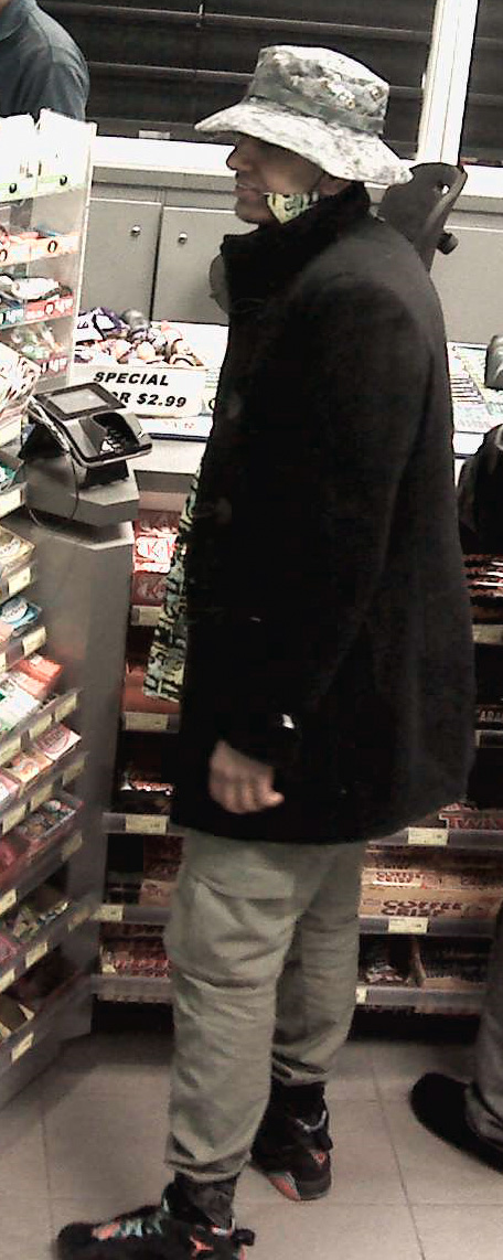 Police are searching for two men after a gas station robbery in Vaughan. YORK REGIONAL POLICE.