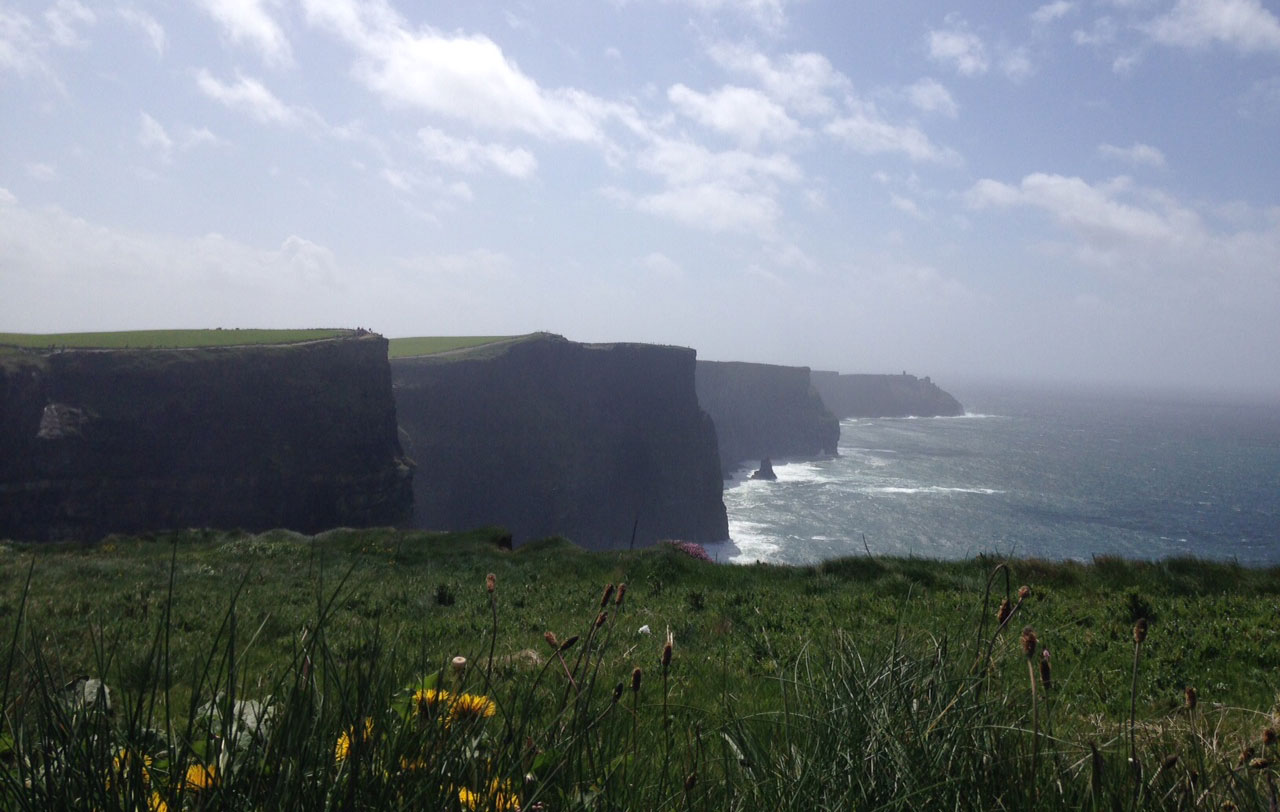 The Cliffs of Moher in County Clare, Ireland. 680 NEWS/Patricia D'Cunha.