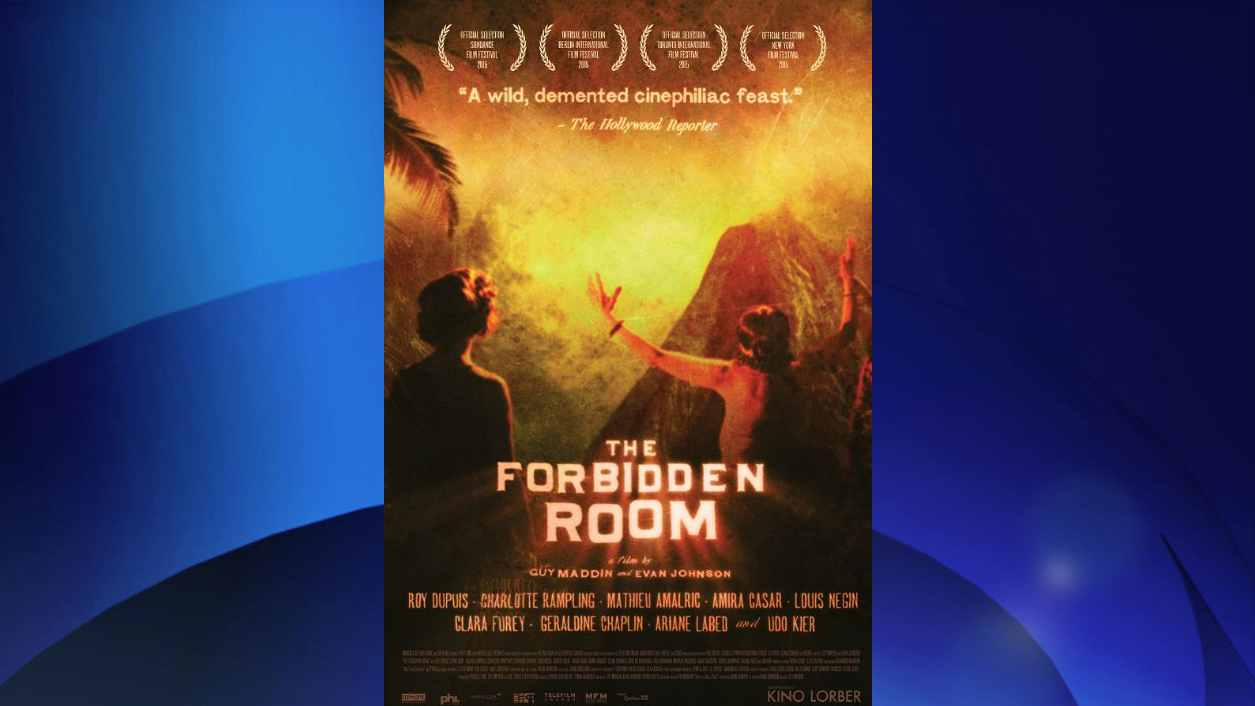 The poster for 'The Forbidden Room,' directed by Guy Maddin and Evan Johnson. KINO LORBER INC.