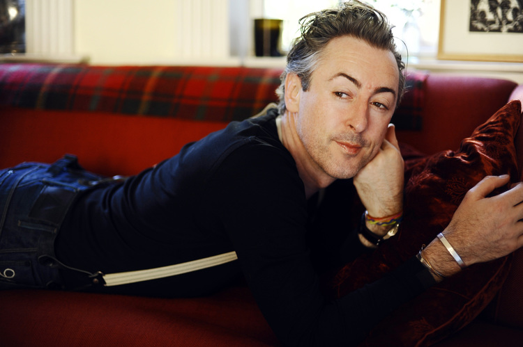 Clearance Actor Alan Cumming at home in New York. Photo via alancumming.com
