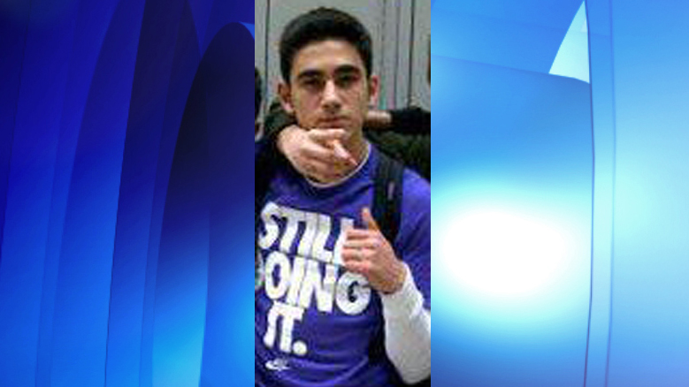 Nick Bagherzadeh arrested in connection with Vaughan double stabbing, Feb. 8. 2016. YORK REGIONAL POLICE/Hanout