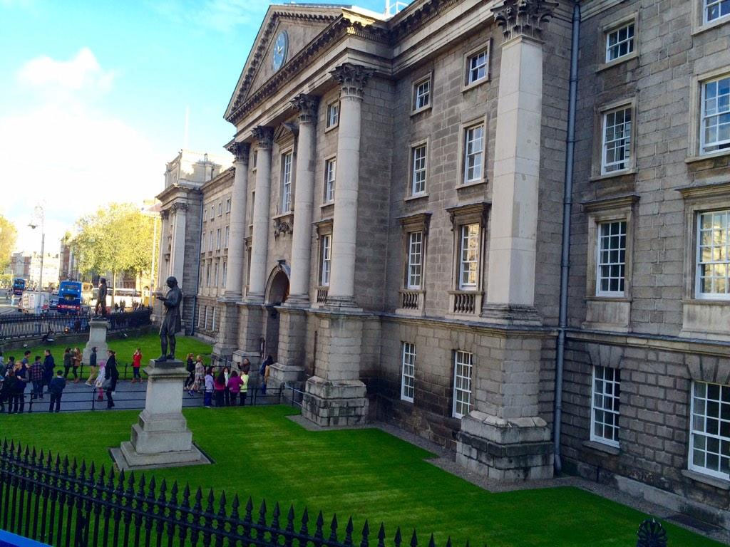 Trinity College in Ireland. Photo via Twitter/@studygoabroad.