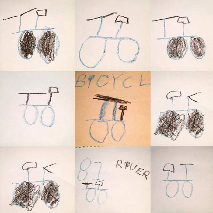 Posters River made in search of his stolen bike. River Majster, 5.