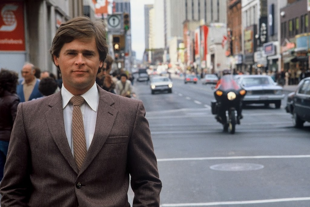 CityNews anchor Gord Martineau in 1979.