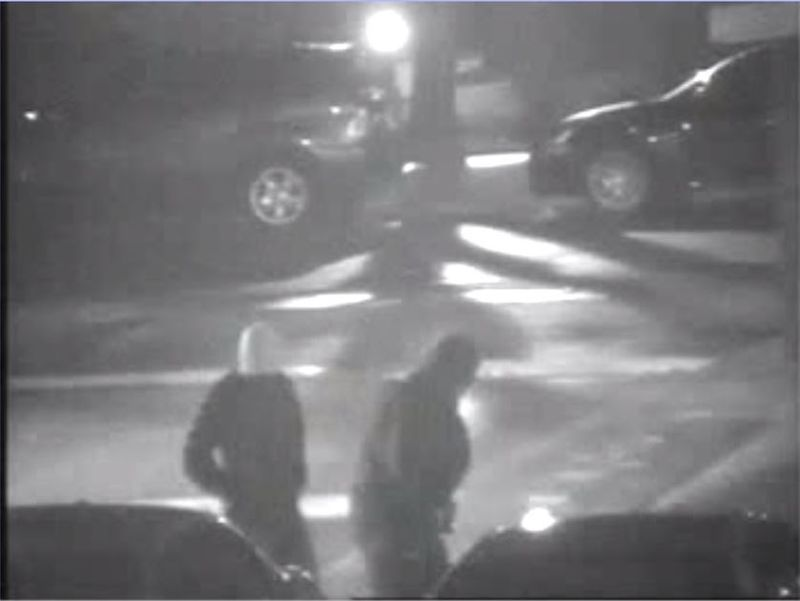 The suspects in the Scarlettwoods murder were captured on security camera. TORONTO POLICE SERVICE