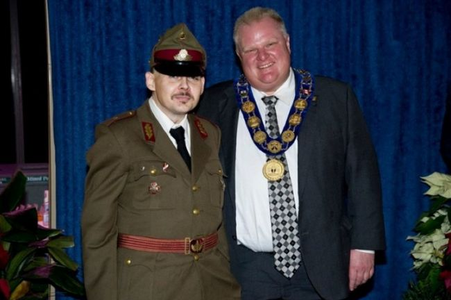 Rob Ford photo op