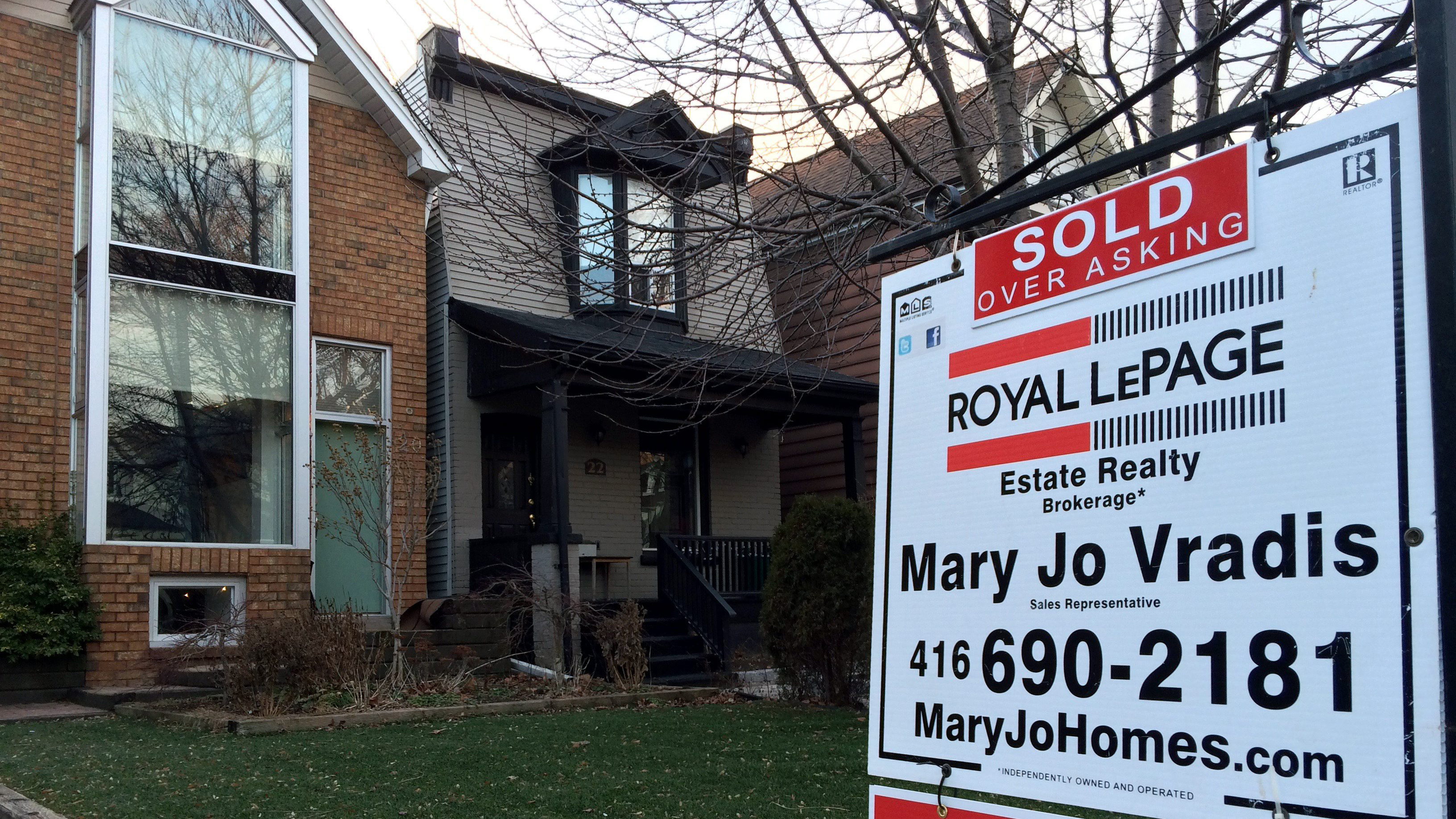 Toronto Area Home Prices Soar In March Average Price Jumps 332