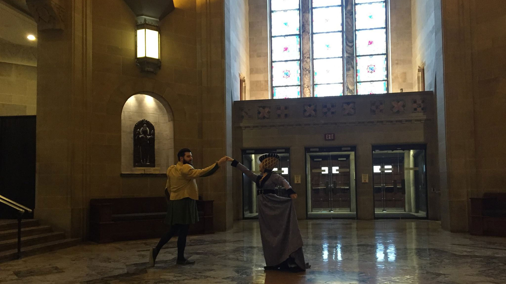 """The Royal Ontario Museum's """"Enchanted March Break"""" program is offering several activities including learning to dance like a knight or princess during Elizabethan times. Photo via Facebook/RoyalOntarioMuseum."""