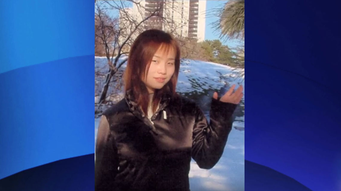 Lin Tao, 19, was found with stab wounds near Finch Avenue West and Keele Street on Feb. 10, 2002. TORONTO POLICE SERVICE.