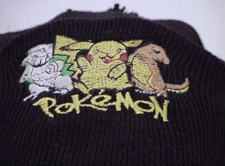 A Pokemon tuque was found at the stabbing scene near Finch Avenue West and Keele Street on Feb. 10, 2002. TORONTO POLICE SERVICE.