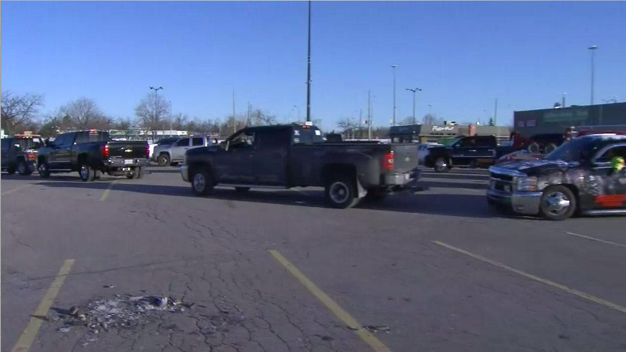 Tow truck in brampton