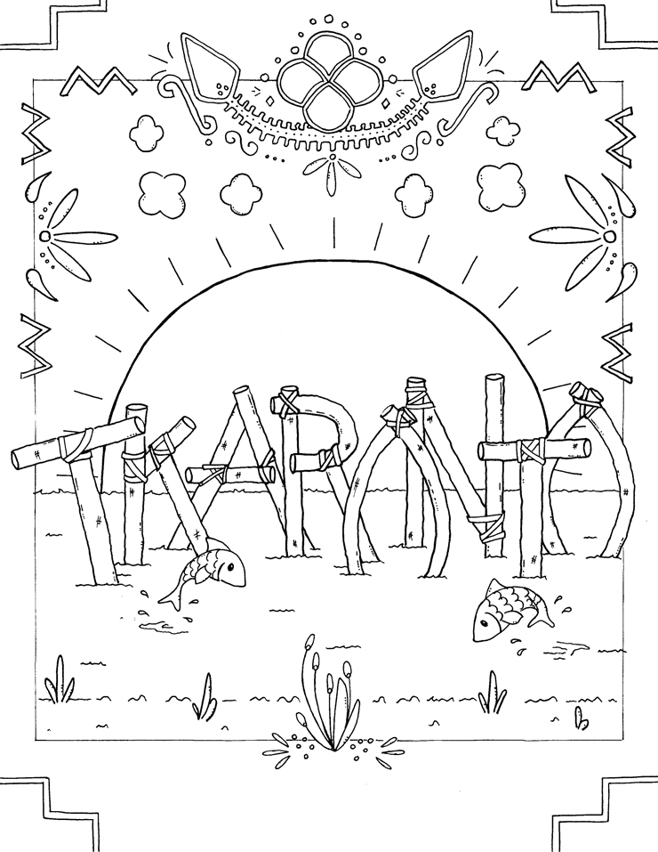 Welcome to Toronto colouring book: Tkaronto Artist: Shannon L Cote