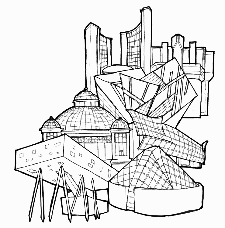 Welcome to Toronto colouring book: Toronto buildings Artist: Christine Kim